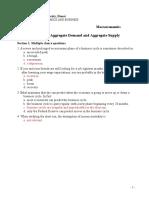 Macroeconomics Homework 8