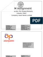 STM Asian Paints Group 6 SectionB
