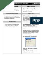 Firminstaller USE Manual