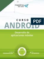 Curso Android-Desarrollo de Aplicaciones Móviles