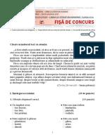 Test Limba si literatura romana cl a-II a.pdf