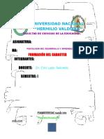 Formacion Del Caracter