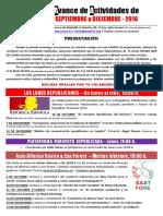 CAUM - Agenda 4 Trim. 2016
