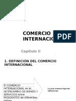 Capitulo II Comercio Internacional