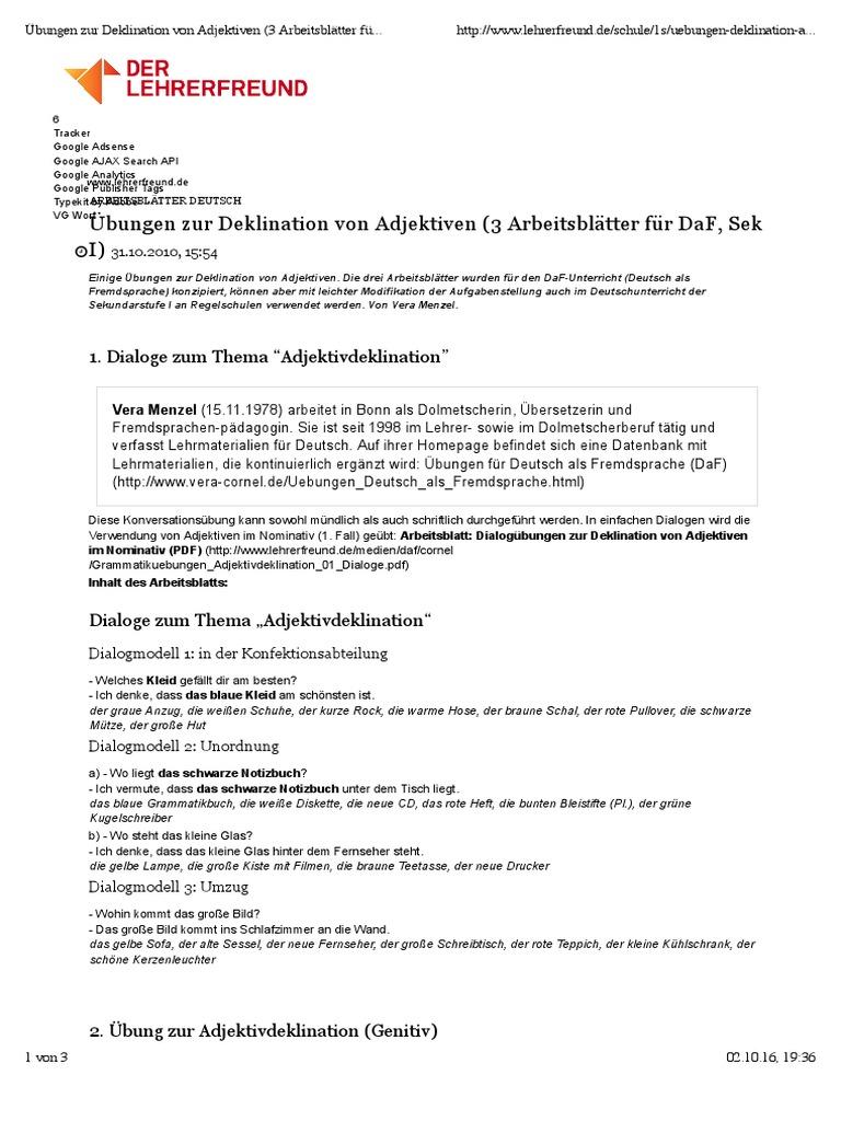 Old Fashioned Adjektive Arbeitsblatt Sketch - Mathe Arbeitsblatt ...