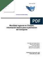 Chiapas Estructura