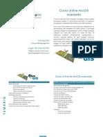 MappingGIS Programa Curso ArcGIS Avanzado