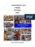 Programación Anual 6º Primaria 2016-2017
