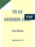 ETK101E Introduction 12
