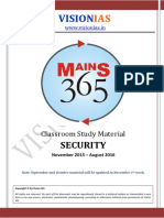 01 Security [Vision 365 Mains 2016 ]