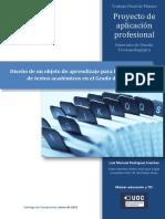 proyecto de aplicación profesional