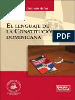 El Lenguaje de La Constitución Dominicana