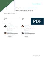 BEZERRA, Mariana. et all.  Ferramenta de corte manual de bambu. 9º P&D - 2010 -.pdf