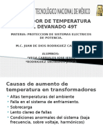Relevador de Temperatura Del Devanado 49t