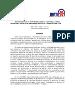 HUGO MARTIN ATOMICA CORDOBA COMUNICACION CIENCIA TECNOLOGIA NUCLEARES CNEA CORDOBA 2016 AATN