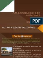 1. Plan de Produccion o de Operaciones