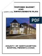 2017 Proposed Budget Northampton County