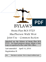 BCS 3723 Bylaws (Joint)