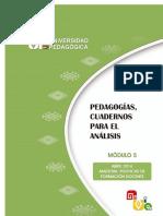 Pedagogias Cuadernos Para El Análisis M5PFD