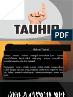 TAUHID PPT Agama Islam Politeknik Negeri Malang tahun 2016
