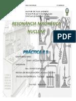 Lab 5 Resonancia Magnetica Nuclear