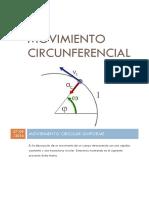 Movimiento Circunferencial