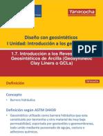 1.7 Introducción a Los GCL Rev0