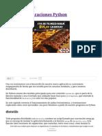 Distribuir Aplicaciones Python