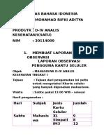 Tugas Bahasa Idonesia Rifki