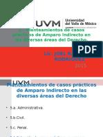1. Planteamientos de Casos Prácticos de Amparo Indirecto en Las Diversas Áreas Del Derecho