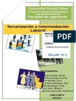 Tercerizacion e Intermediacion