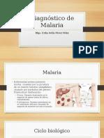 Diagnóstico de Malaria
