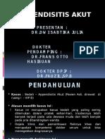 Presentasi Kasus Appendisitis Fix 2007