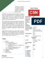 Canal 5 Noticias - Wikipedia, La Enciclopedia Libre