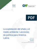La Explotación Del Shale y El Medio Ambiente Lecciones de Política Para América Latina