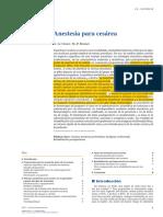 Anestesia Cesarea