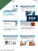 Clase 1 2016-2 Unmsm Bioseguridad Normas