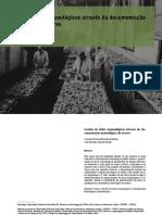 Documentação museológica - acervos arqueológicos
