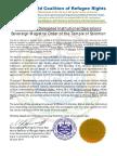 WCRR Mandate to KTS (Peace & Culture)
