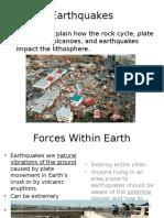 34  rocks and plate tectonics-earthquakes  1