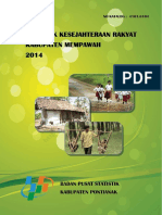 Statistik Kesejahteraan Rakyat Kabupaten Mempawah 2014