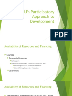 SMU's Participatory Approach to Development