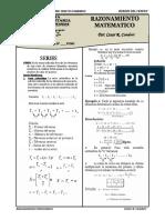 Razonamiento Matemático Series