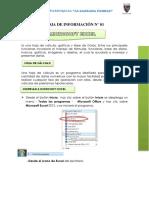 Hoja de Información n 01 Excel