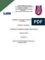 Reporte de Destilacion 1