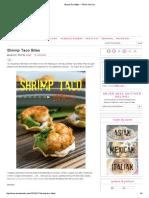 Recipe - Shrimp Taco Bites