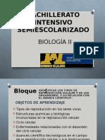 Bachillerato Intensivo Semiescolarizado Biologia II