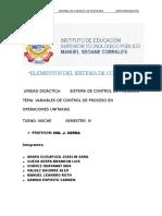 Sistemas de Control de Procesos 1