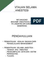 Monitoring Anestesi