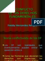 Los Conflictos de Los Derechos Fundamentales